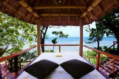 Feeling Stressed? How about a massage with an ocean view? This will be our first stop #MyFavoriteGetaway #NamaleResort