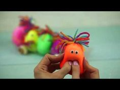 An easy way to make your own sensory balloons. Doll Crafts, Crafts For Kids, Arts And Crafts, Infant Activities, Activities For Kids, Sensory Balloons, Kids Klub, Kids Origami, Cartoon Coloring Pages