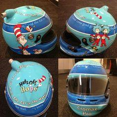Jeff's helmet for the all-star race