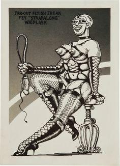 "Original Robert Crumb Art   Robert Crumb Snatch Comics #1 Page 25 ""Far Out Fetish Freak ..."