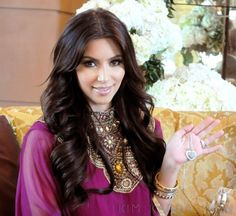 Kim Kardashian's hair