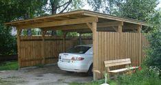 Wood Carports Plans - PDF Plans 8x10x12x14x16x18x20x22x24 DIY ... #ShedPlans12X14
