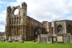 Elgin Cathedral. Scotland