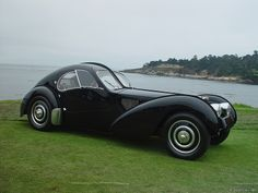 1937 Bugatti type 57SC Atlantic. The most expensive car in the world at 30 mil