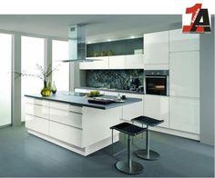 ALNO AG Altano KÜCHE grifflos Avior HG weiss Musterküche mit Fronteingriff Must in Möbel & Wohnen, Komplett-Küchen & Ausstattung, Komplett-Küchen | eBay!