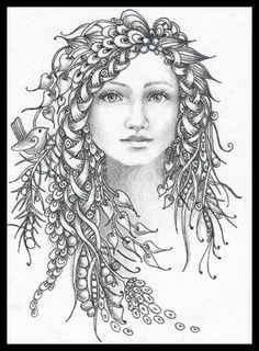 Fairy Tangles --> For the best adult coloring books and writing utensils including gel pens, colored pencils, watercolors and drawing markers, go to our website at http://ColoringToolkit.com. Color... Relax... Chill.