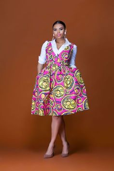 African Print Styles For Your Special Events - Sisi Couture Short African Dresses, Latest African Fashion Dresses, African Print Dresses, African Print Fashion, African Wear, African Attire, African Women, African Prints, African Style