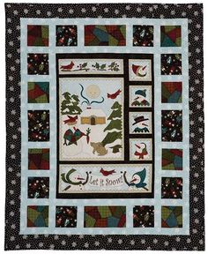 Winter Folk Fun Quilt Kit | Keepsake Quilting