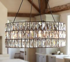 Adeline Crystal Chandelier | Pottery Barn