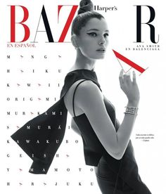Ava Smith for Harper's Bazaar Latin America by Xevi Muntane