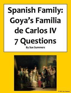 Spanish Family - Goya's Familia de Carlos IV - 7 Questions