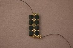 The materials list for the Fancy Tila Bead Bracelet Free Beading Pattern.: Add the Next Picot