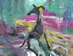 Sin título. Óleo sobre lienzo. 115 x 146 cm. 2003. Autor: Jorge Rando