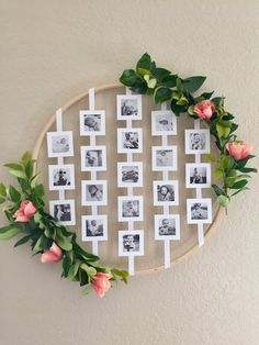 persnickety prints 3 inch floral photo ring