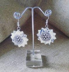 Crochet Earrings, Drop Earrings, Jewelry, Fashion, Poppies, Moda, Jewlery, Jewerly, Fashion Styles