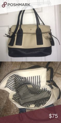 Kate Spade bag Southport Carmen Cross Body Bag in Navy Cream- Good Condition kate spade Bags Crossbody Bags
