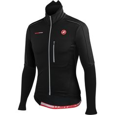 Castelli Mortirolo 3 Mens Cycling Jacket Black Small -- Be sure to check out this awesome product. Cycling Jerseys, Cycling Gear, Cycling Equipment, Cycling Outfit, Cycling Clothing, Men Online, Faux Leather Jackets, Nike Jacket, Just For You