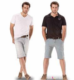 Bermuda masculina é tendência de moda para o verão 2014