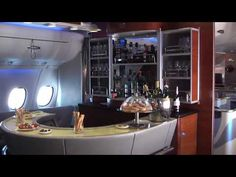 On board ... Airbus A380, Emirates Airlines, Dubai