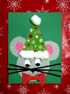 Check out student artwork posted to Artsonia from the K Christmas Mouse project gallery at New Market Elementary School.