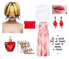 """Bez naslova #13"" by ermina-camdzic ❤ liked on Polyvore featuring Karen Millen, Bebe, Paul Andrew, Oscar de la Renta, Givenchy and Lolita Lempicka"