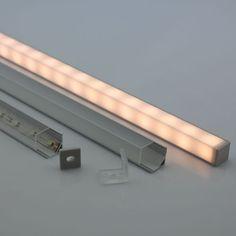 Corner LED Tape Light Aluminum Profile