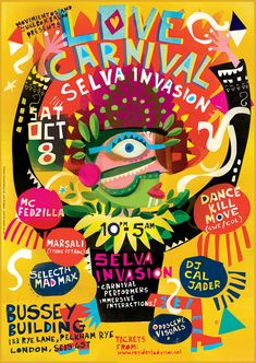 Love Carnival Posters on Behance