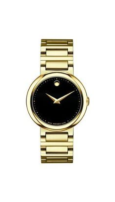 Movado Women's 0606420 Concerto Gold-Plated Stainless-Steel Black Round Dial Watch Movado, http://www.amazon.com/dp/B003V2NLVO/ref=cm_sw_r_pi_dp_3l2hrb062VNAK