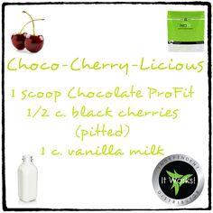 Choco Cherry-Licious Protein Shake Recipes Add me on Facebook: https://www.facebook.com/Diamonddivawrap