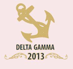DG Bid Night! #DG #DeeGee #DeltaGamma #Anchor #Gold