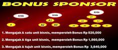 bonus sponsor era baru pt melia sehat sejahtera