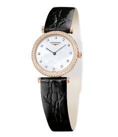 Longines Agassiz 180th Anniversary Watch - A limited edition of 180 pieces to commemorate Longines' anniversary of the same number of years. Beautiful black alligator strap and diamond indices. $8,750.