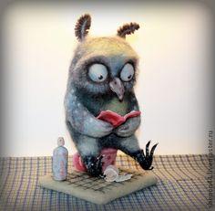 handmade toy owl