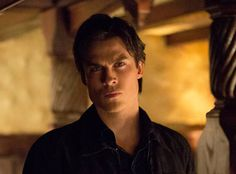 "Damon Looks On in Vampire Diaries Season 4, Episode 16: ""Bring It On""----Beautiful Eyes"