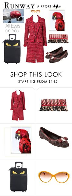 """Runway to Runway"" by boutiquebrowser ❤ liked on Polyvore featuring Chanel, Emilio Pucci, Salvatore Ferragamo, Fendi and vintage"