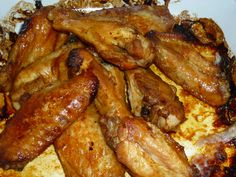 SOUTH AFRICAN CHICKEN WINGS