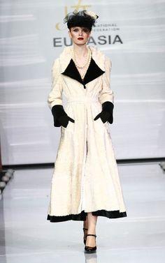 Irina Krutikova | Gallery Reptile Skin, Fur Fashion, Faux Fur, Stylists, Coats, Luxury, Gallery, Jackets, How To Wear