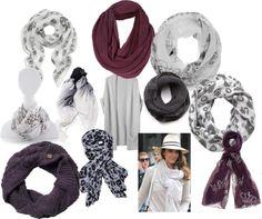 """""""So many scarves, so little time"""" by alissa-weikel on Polyvore"""
