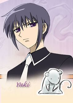Yuki wasn't my favorite either, but he was interesting. In the manga he was a little wishy washy about his feelings for Tohru, but he eventually sorted it out. I like his personality and design.