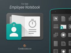 Employee Notebook Product Icon