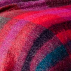 chroma mohair throw