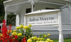 Birthplace of John Wayne Winterset, Iowa John Wayne, Great Places, Places To See, Places Ive Been, Amana Colonies, Madison County, Art Design, Nebraska, Architecture