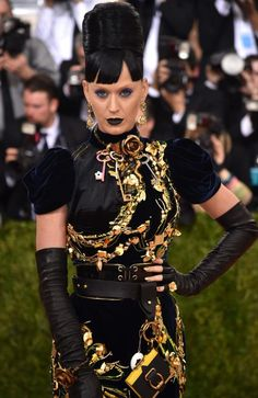 """Katy Perry attends the """"Manus x Machina: Fashion In An Age Of Technology"""" Costume Institute Gala at Metropolitan Museum of Art on May 2, 2016 in New York City. Picture: Dimitrios Kambouris/Getty Images/AFP"""