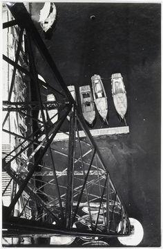 Vue prise du pont transbordeur, Marseille, 1926 Krull Germaine