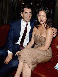Pin for Later: Ces Idylles Vont-Elles Durer? Aaron Rodgers and Olivia Munn