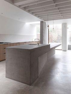 Una casa dal sapore minimal a Londra