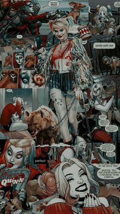 Harley And Joker Love, Joker And Harley Quinn, Cartoon Wallpaper Iphone, Cute Disney Wallpaper, Harley Queen, Harley Quinn Drawing, Queens Wallpaper, Cartoon Art, Cute Wallpapers