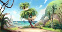 Desenvolvimento Visual de Angry Birds Movie, por Jeanie Chang | THECAB - The Concept Art Blog