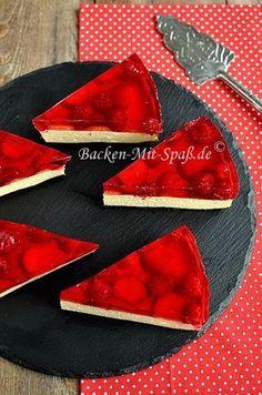 Götterspeise- Käsekuchen Cake Cookies, Cupcake Cakes, Sweet Cupcakes, Cheesecake Cake, Dessert Recipes, Desserts, Yummy Recipes, Recipies, Pretty Cakes