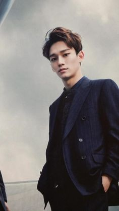 chen / exo [The Celebrity Magazine January Exo Chen, Exo Ot9, Kpop Exo, Kris Wu, Kim Min Suk, Kim Jong Dae, Chanbaek, K Pop, Daily Exo